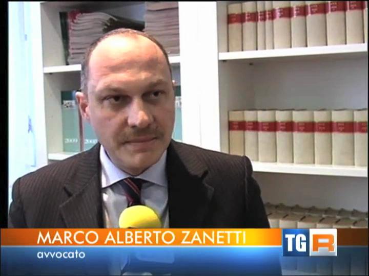 Avv.Marco Alberto Zanetti tg3